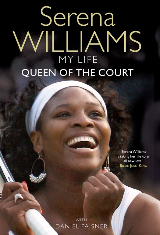 Book Cover Biography : My life book by serena williams official publisher