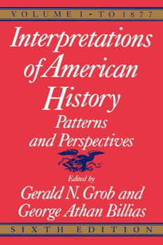 Interpretations of American History, 6th ed, vol. 1