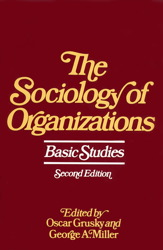 Sociology of Organizations