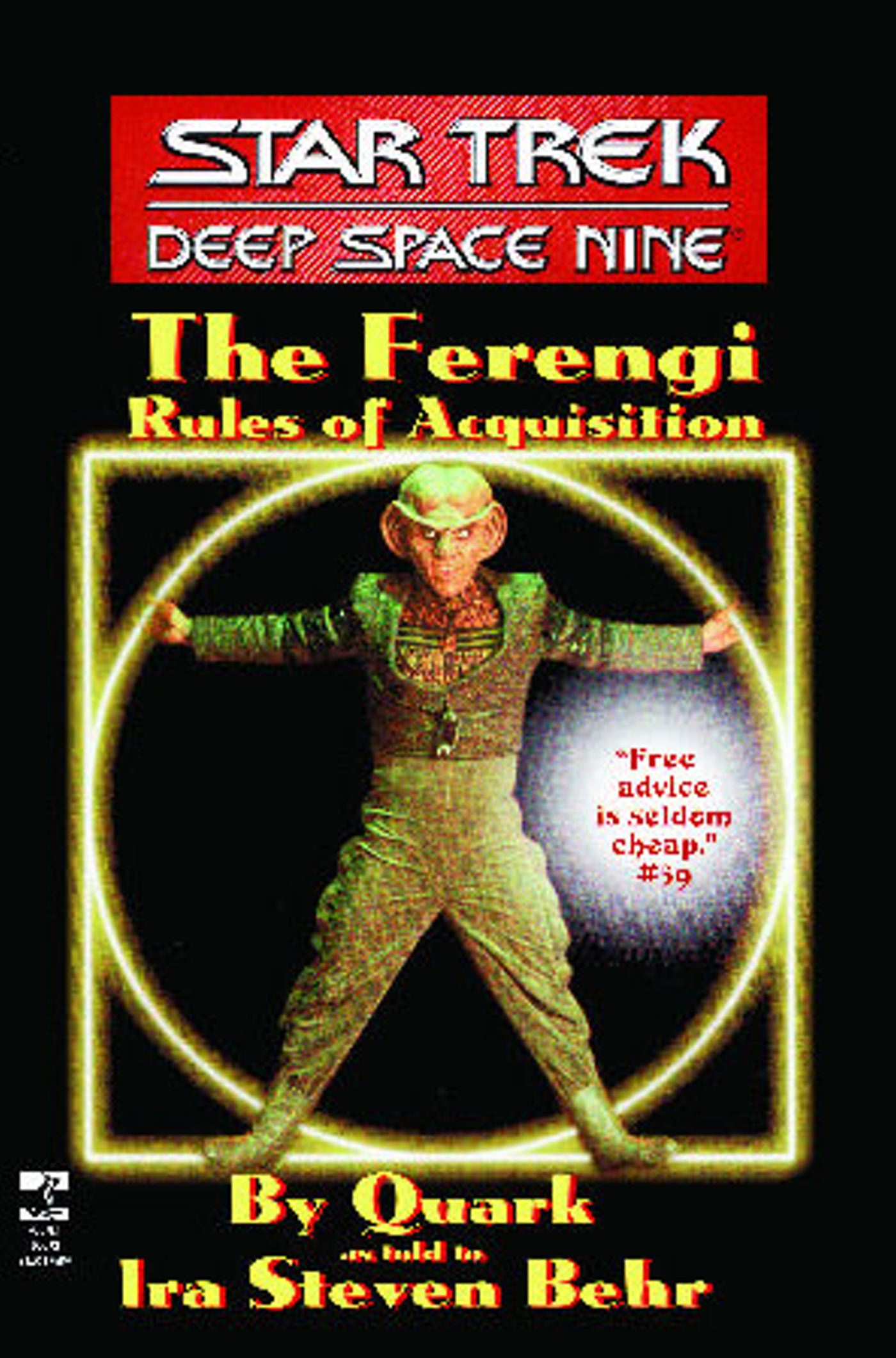 Simon schuster the star trek deep space nine the ferengi rules of acquisition fandeluxe Epub