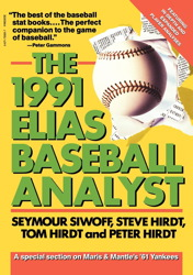 Elias Baseball Analyst, 1991