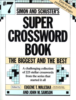 Simon and Schuster Super Crossword Book #7