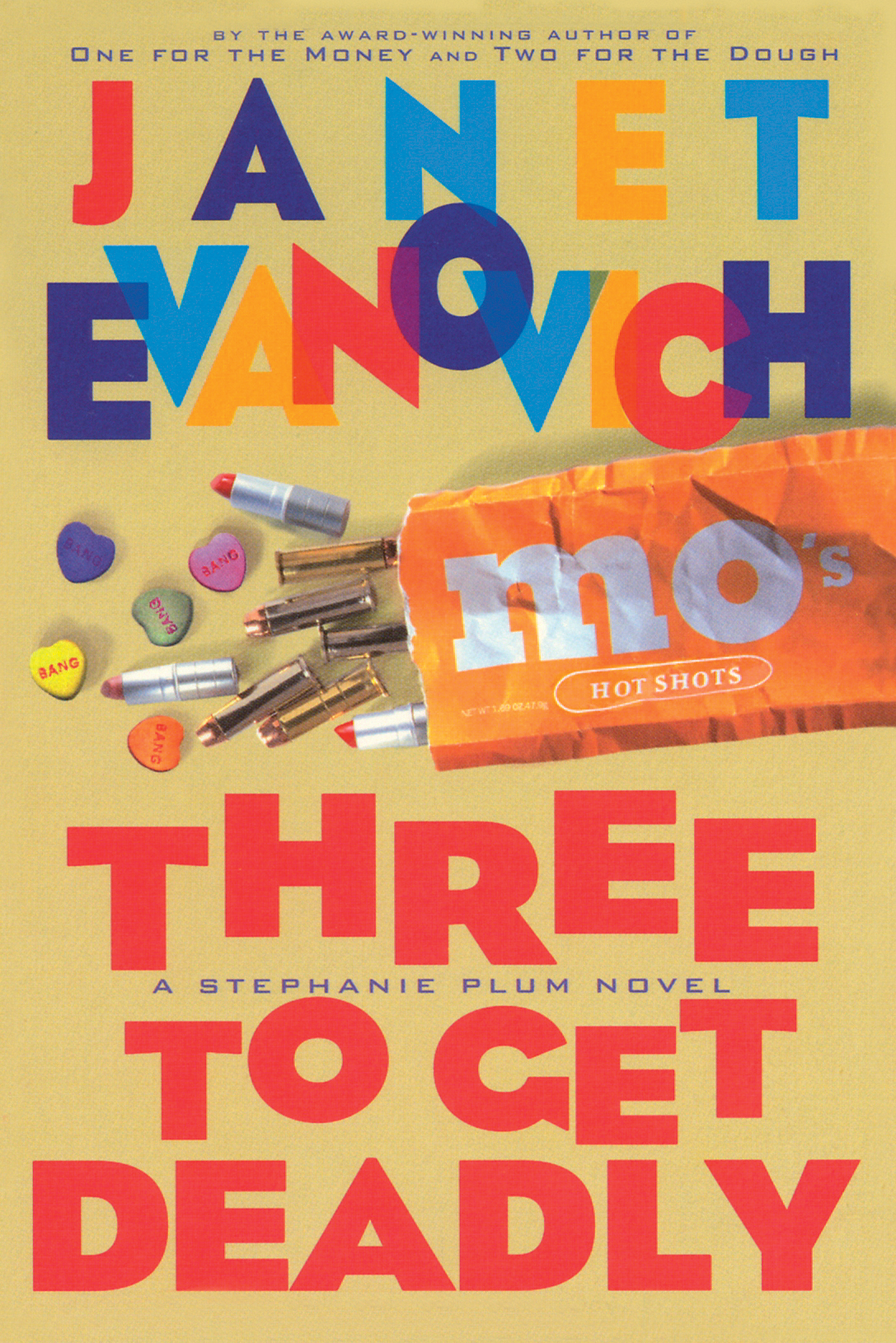 By Janet Evanovich Three To Get Deadly