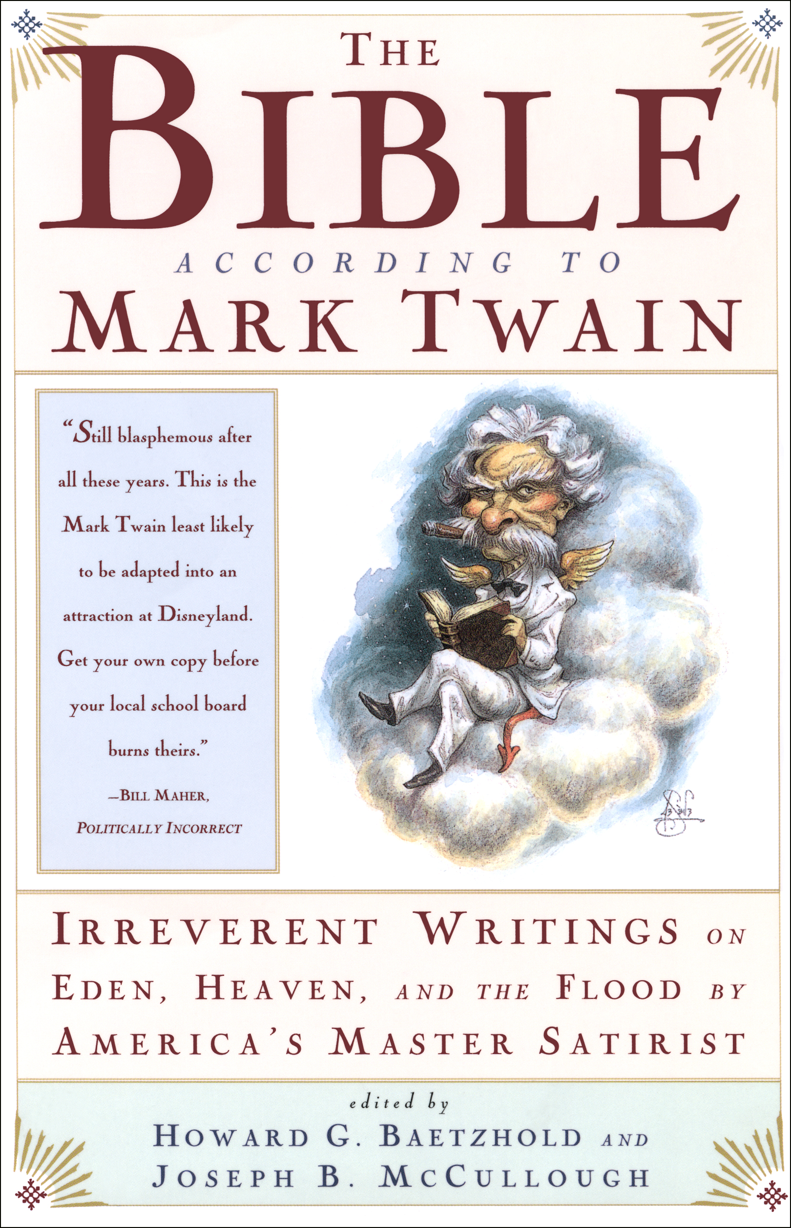 the bible according to mark twain book by joseph b mccullough  cvr9780684824390 9780684824390 hr the bible according to mark twain