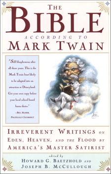 the bible according to mark twain book by joseph b mccullough  the bible according to mark twain