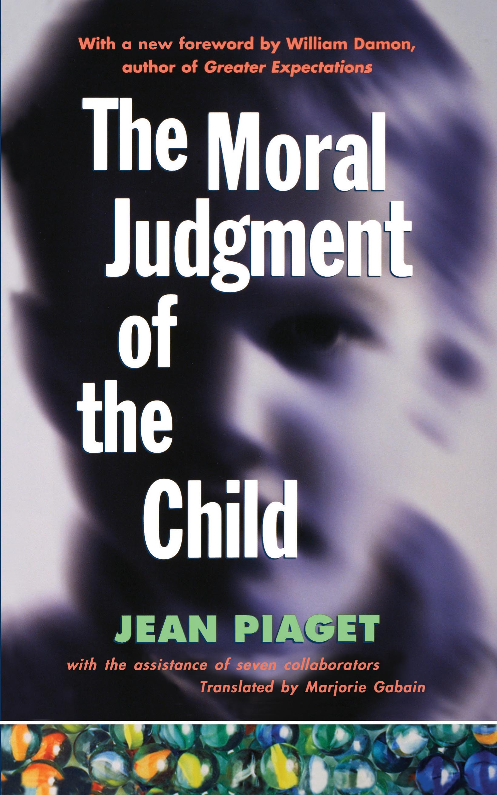 Children Education Book Cover : The moral judgement of child book by jean piaget