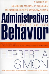 Administrative Behavior, 4th Edition