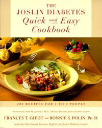 The Joslin Diabetes Quick and Easy Cookbook