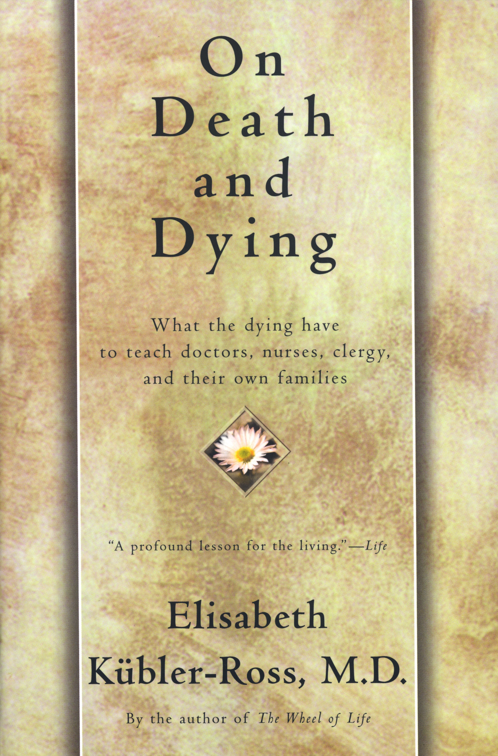 an analysis of elisabeth kubler rosss book death and dying On death and dying : ten years after elisabeth k#65533bler-ross's death in this remarkable book, dr k#65533bler-ross first explored the now-famous five.