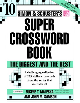Simon & Schuster Super Crossword Book #10