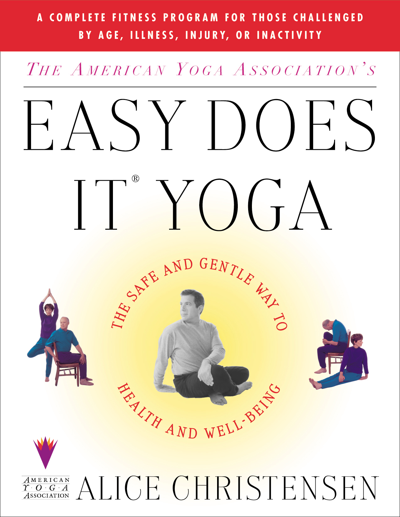 Simple Book Cover Yoga ~ The american yoga associations easy does it book by