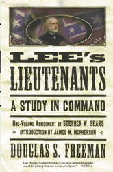 Lee's Lieutenants Third Volume Abridged