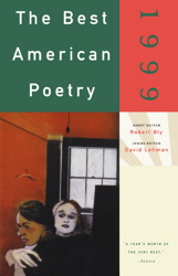 The Best American Poetry 1999