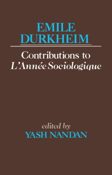 Contributions to L'Anne Sociologique