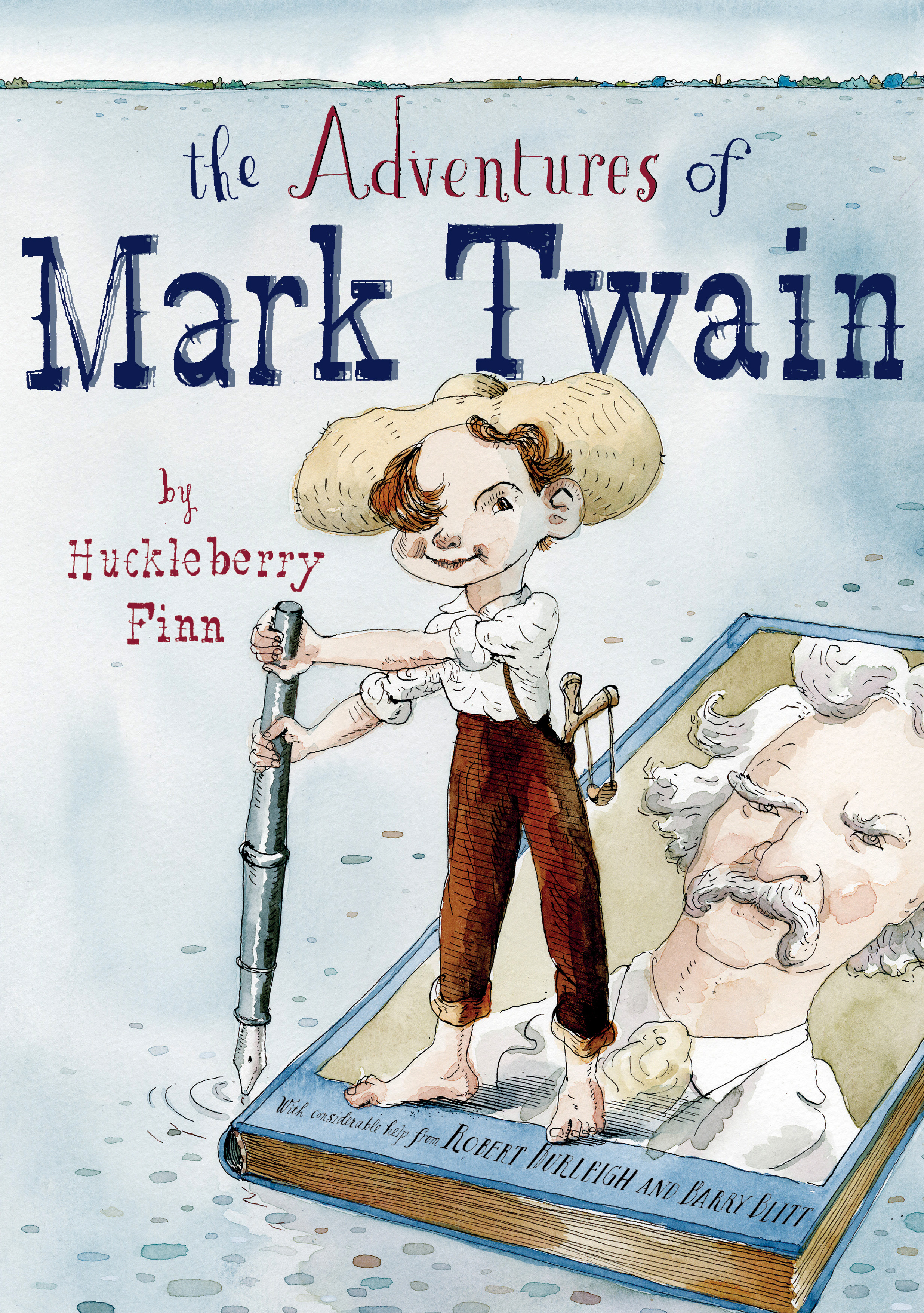 """a summary of the book the adventures of huckleberry finn by mark twain The adventures of huckleberry finn author: mark twain the novel """"the adventures of huckleberry finn"""" is satirical novel, because there is a large number of characters and a lot of events that extend through the extensive novel the author of the novel gave the greatest attention to the adventures of the main character huckleberry finn."""