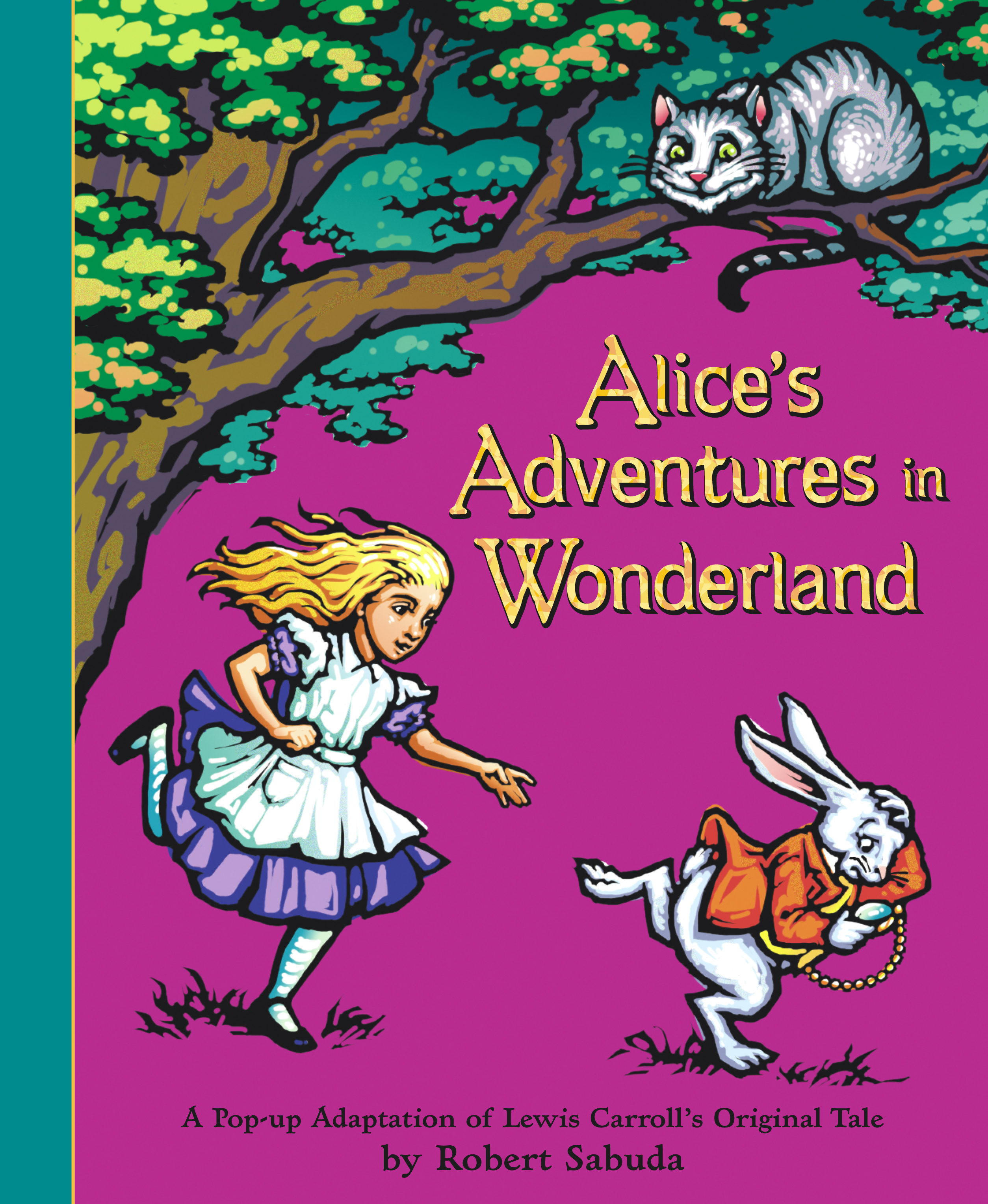 a description of the famous book alice in wonderland
