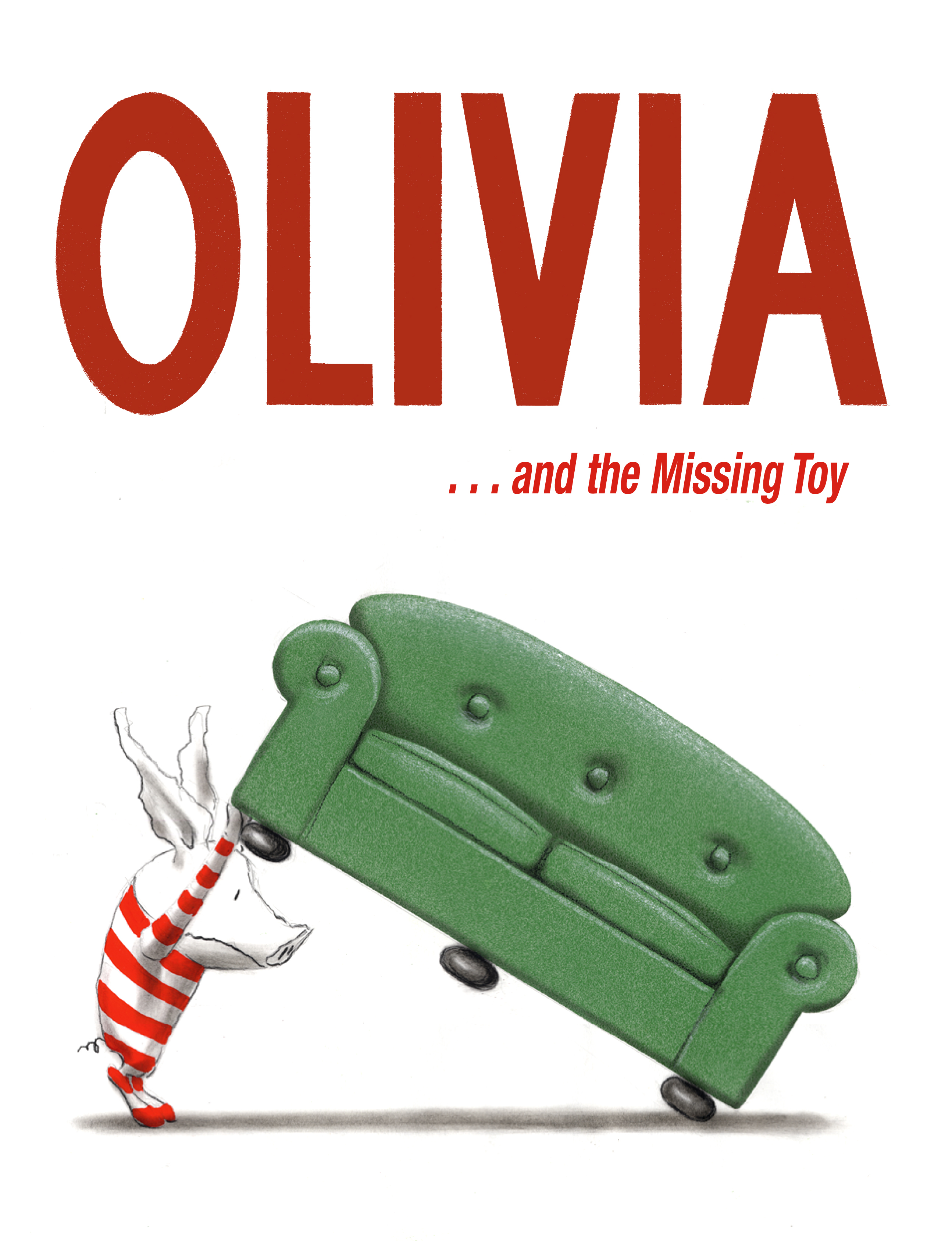 olivia and the missing toy book by ian falconer