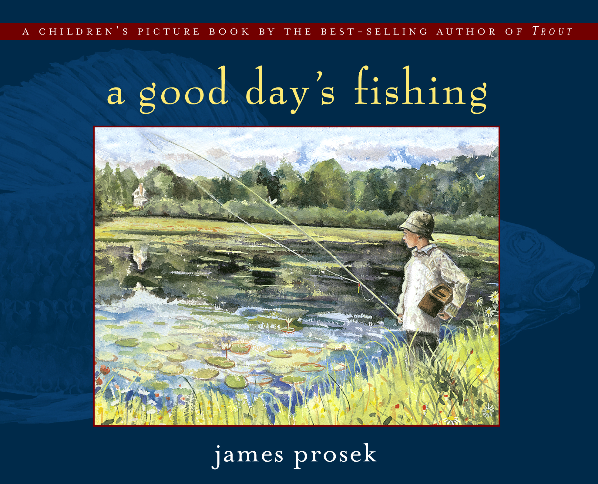 Good day 39 s fishing book by james prosek official for Good fishing days