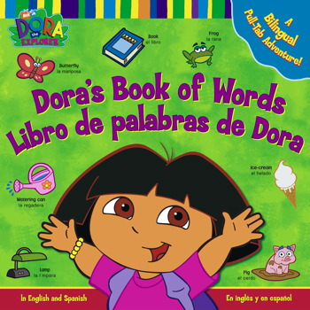 Dora's Book of Words / Libro de Palabras de Dora