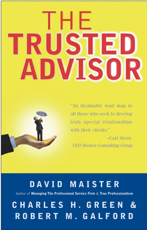 The trusted leader book by robert m galford anne seibold the trusted advisor fandeluxe PDF