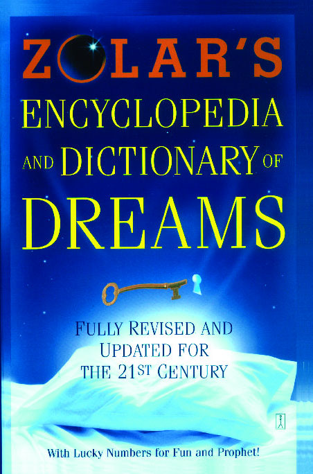 Zolar S Encyclopedia And Dictionary Of Dreams Book By