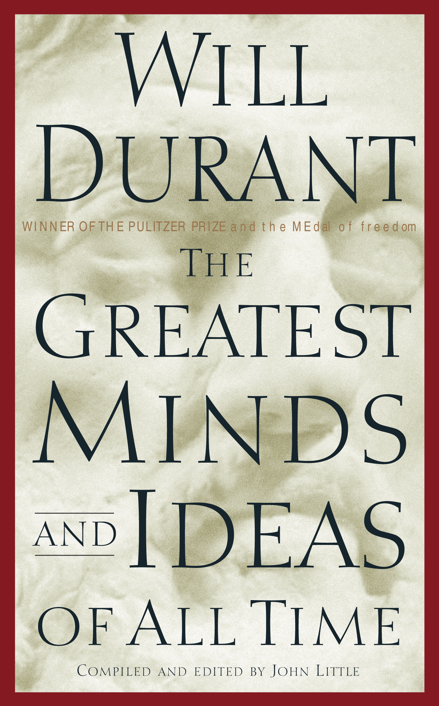 Best Book Cover Designs Of All Time : The greatest minds and ideas of all time book by will