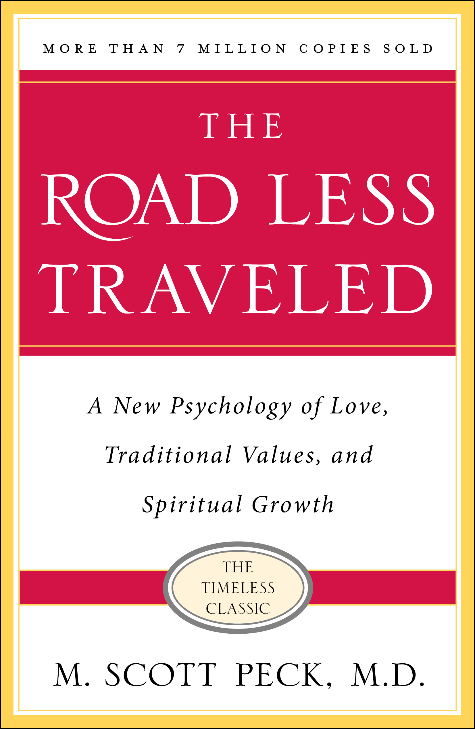 the road less traveled timeless edition book by m