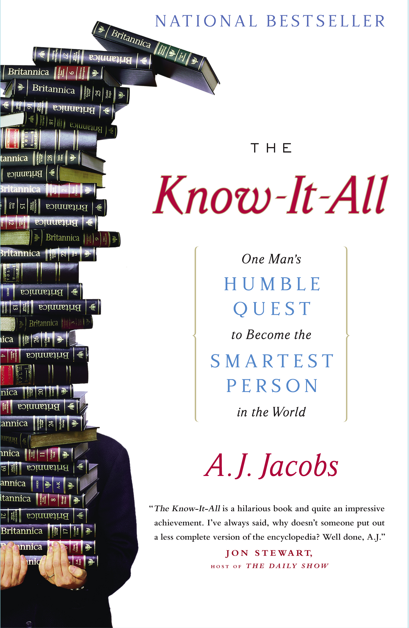 The Know-it-all - One Man's Humble Quest To Become The Smartest Person In The World, Jacobs, A. J.