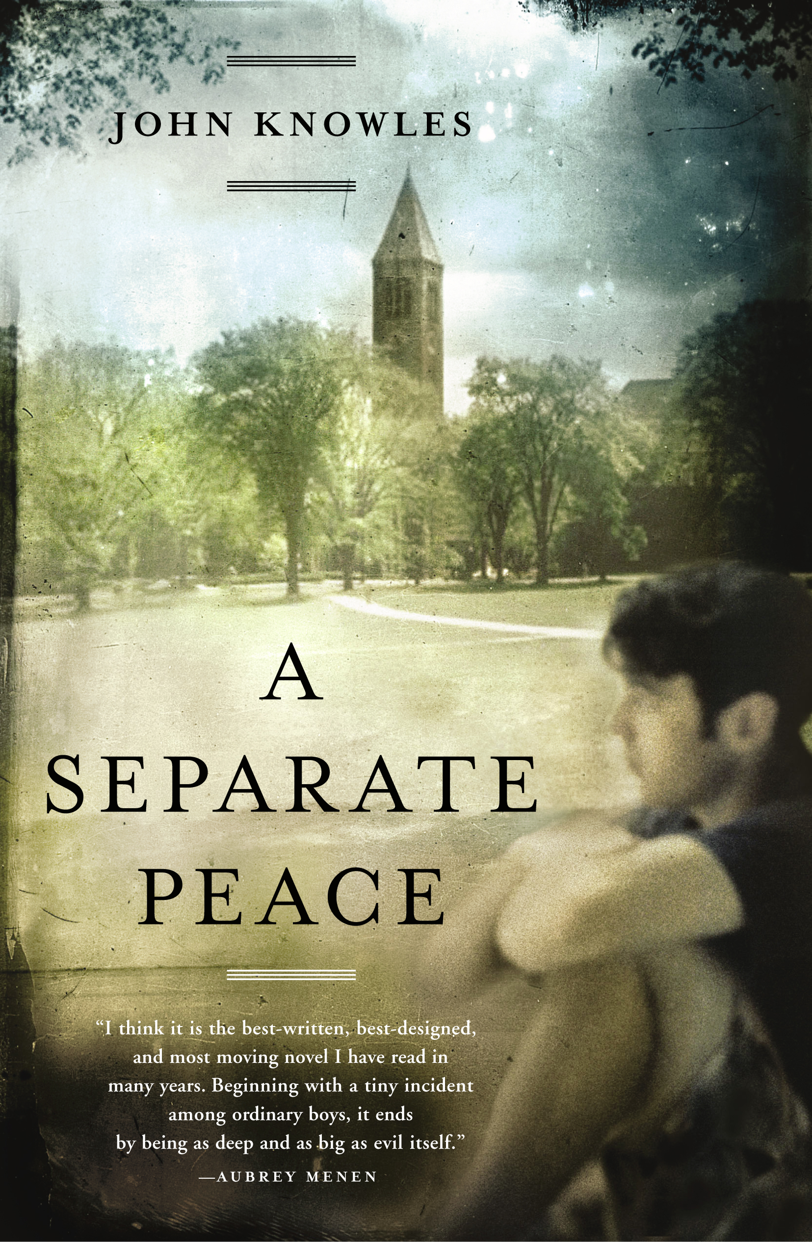an analysis of genes journey in a separate peace a novel by john knowles Gene forrester's difficult journey towards maturity and the adult world is a main focus of the novel, a separate peace, by john knowles gene's journey begins the moment he pushes phineas from the tree and.