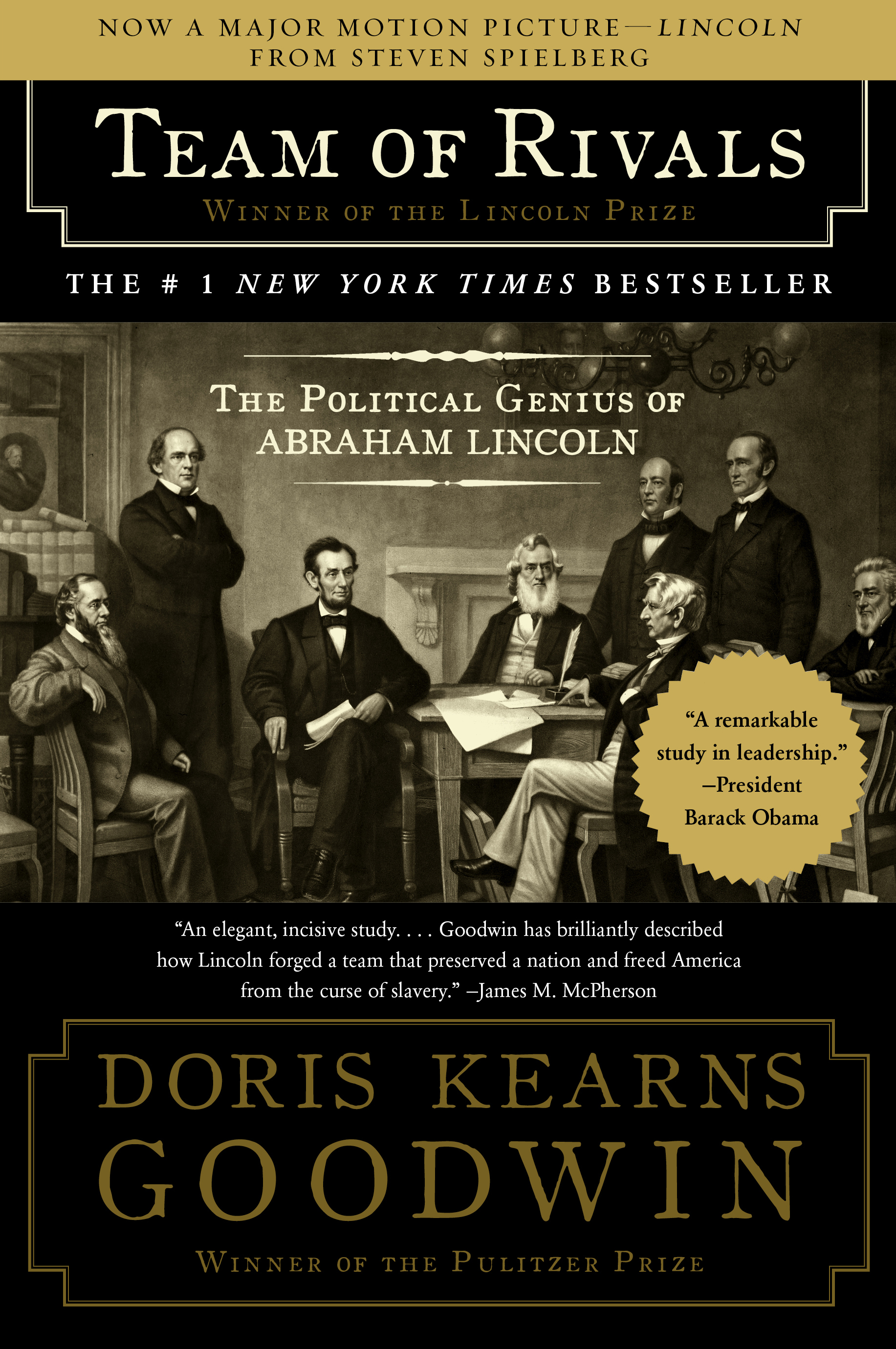 Team Of Rivals Book By Doris Kearns Goodwin Official