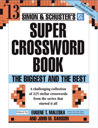 Simon and Schuster Super Crossword Puzzle Book #13