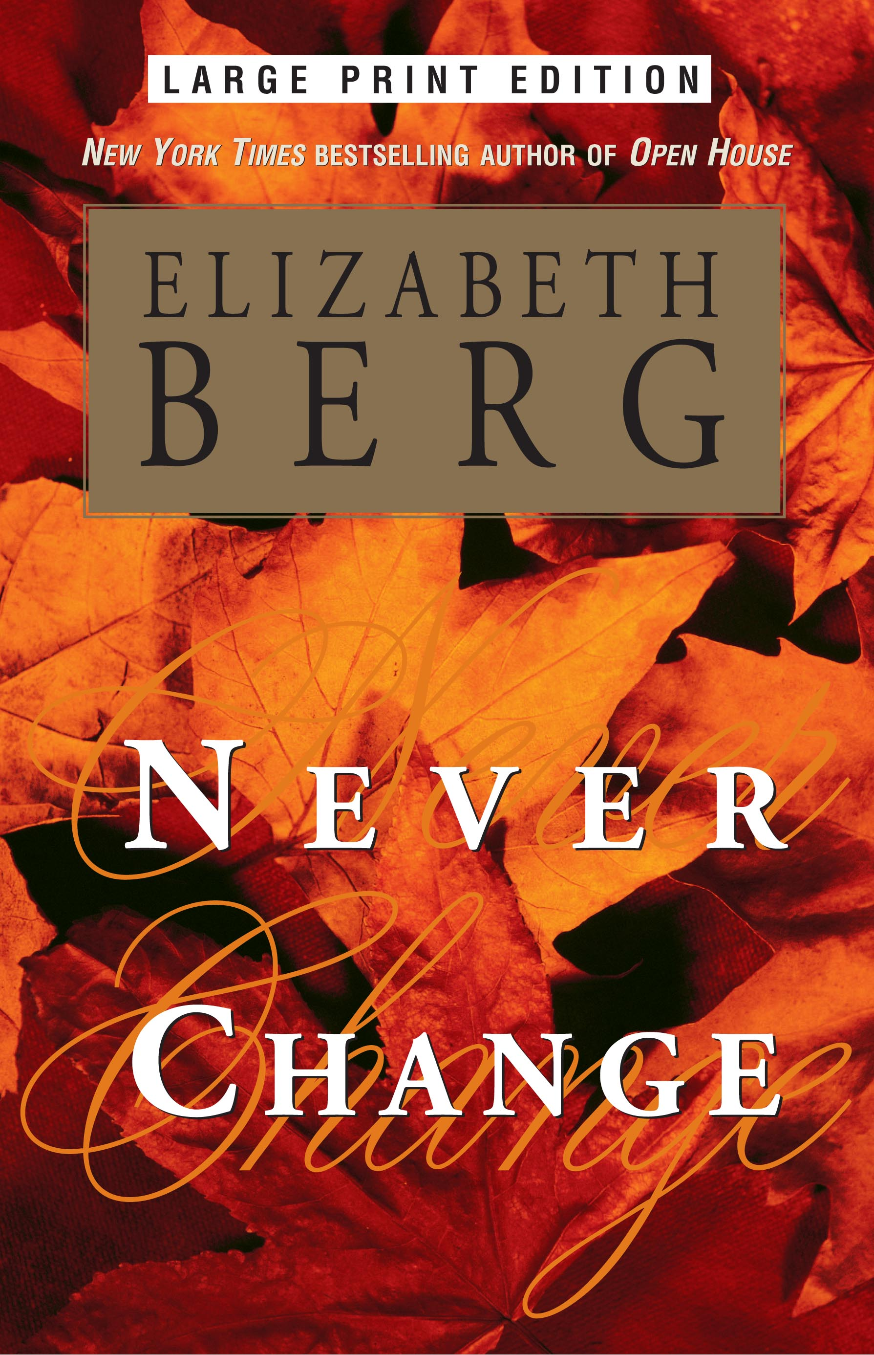 Elizabeth berg official publisher page simon schuster canada book cover image jpg never change fandeluxe Document