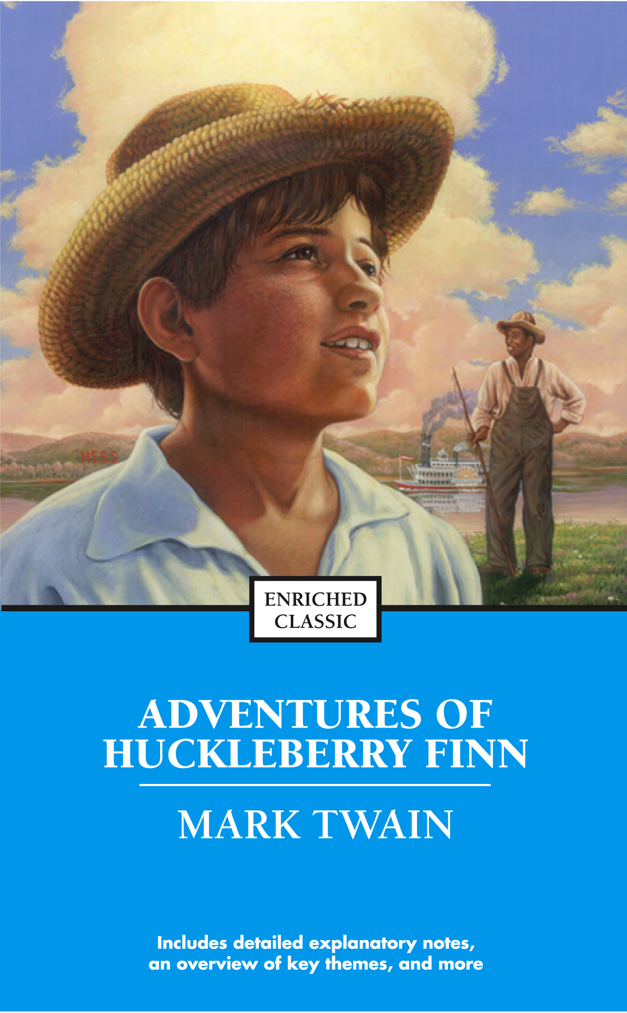 an examination of the adventures of huckleberry finn novel by mark twain Struggling with the themes of mark twain's adventures of huckleberry finn we've got the quick and easy lowdown on them here.