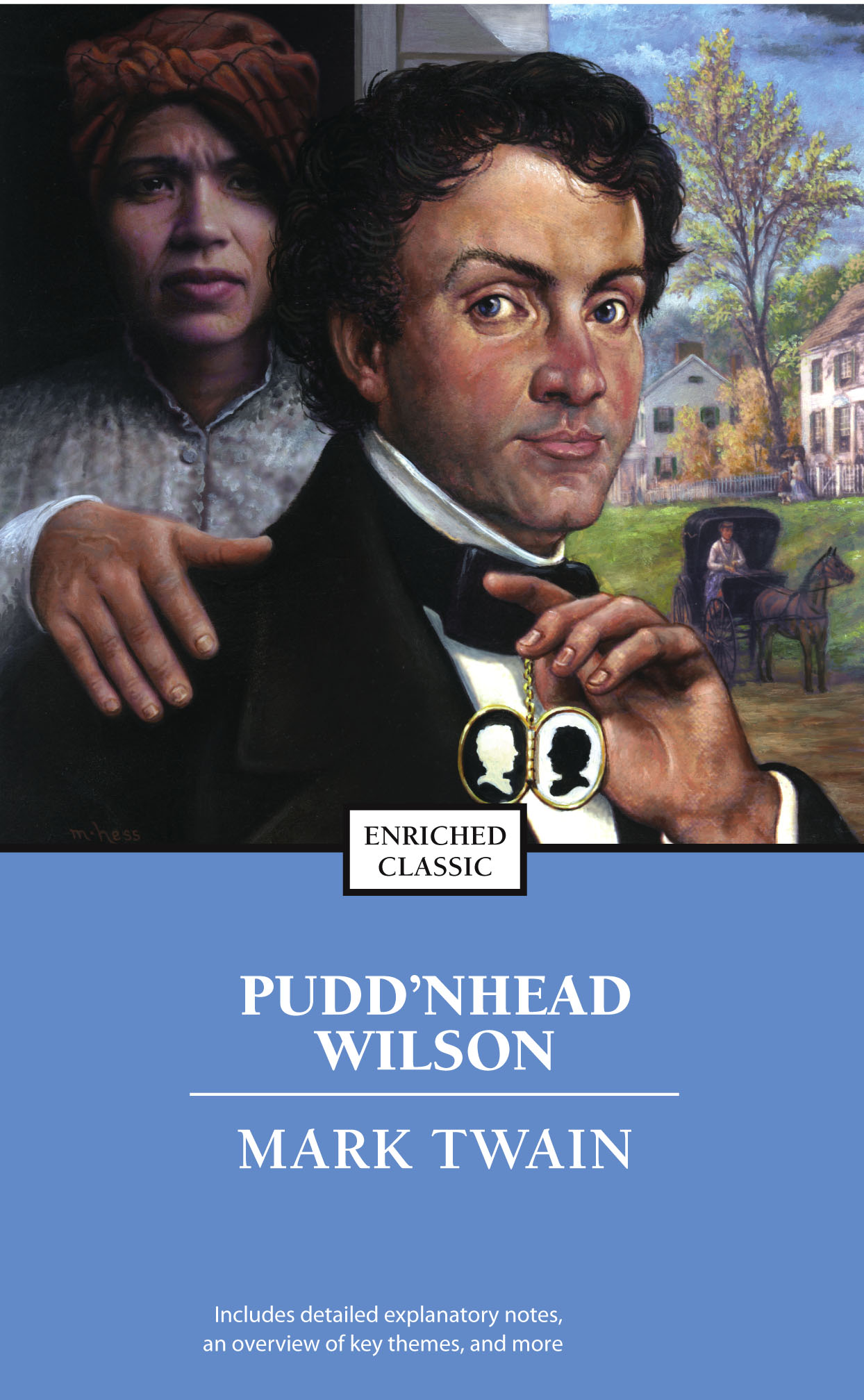 puddnhead wilson by mark twain essay Free essay: a character analysis of tom driscoll in pudd'nhead wilson by mark  twain, the story of two boys, who were switched at early childhood, is told.