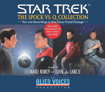 Spock vs. Q Gift Set
