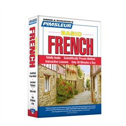 Pimsleur French Basic Course - Level 1 Lessons 1-10 CD