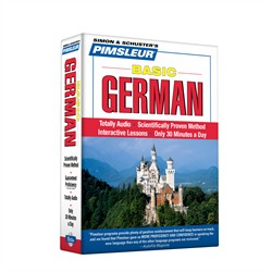 Pimsleur German Basic Course - Level 1 Lessons 1-10 CD