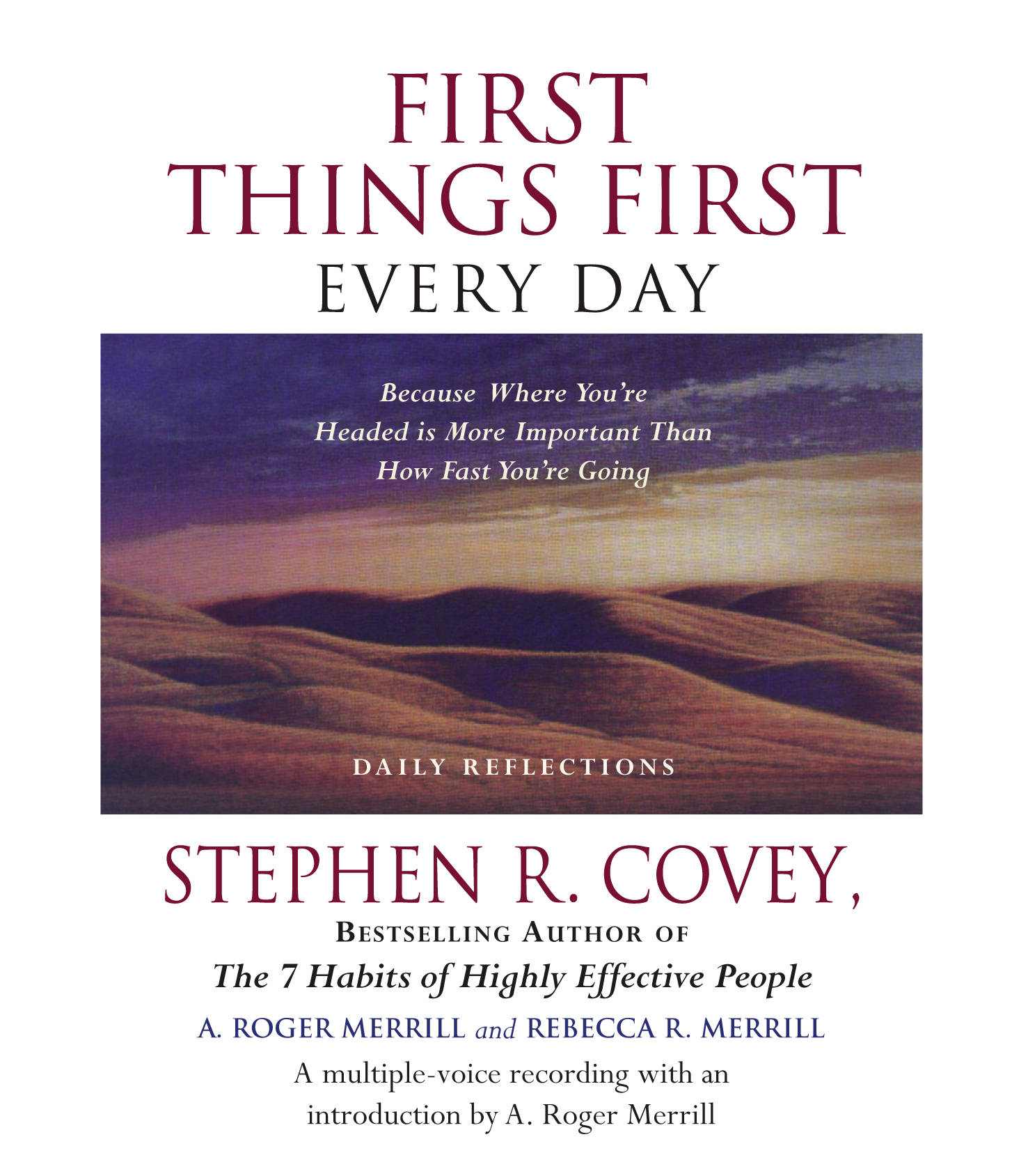 First things first every day stephen r covey pdf