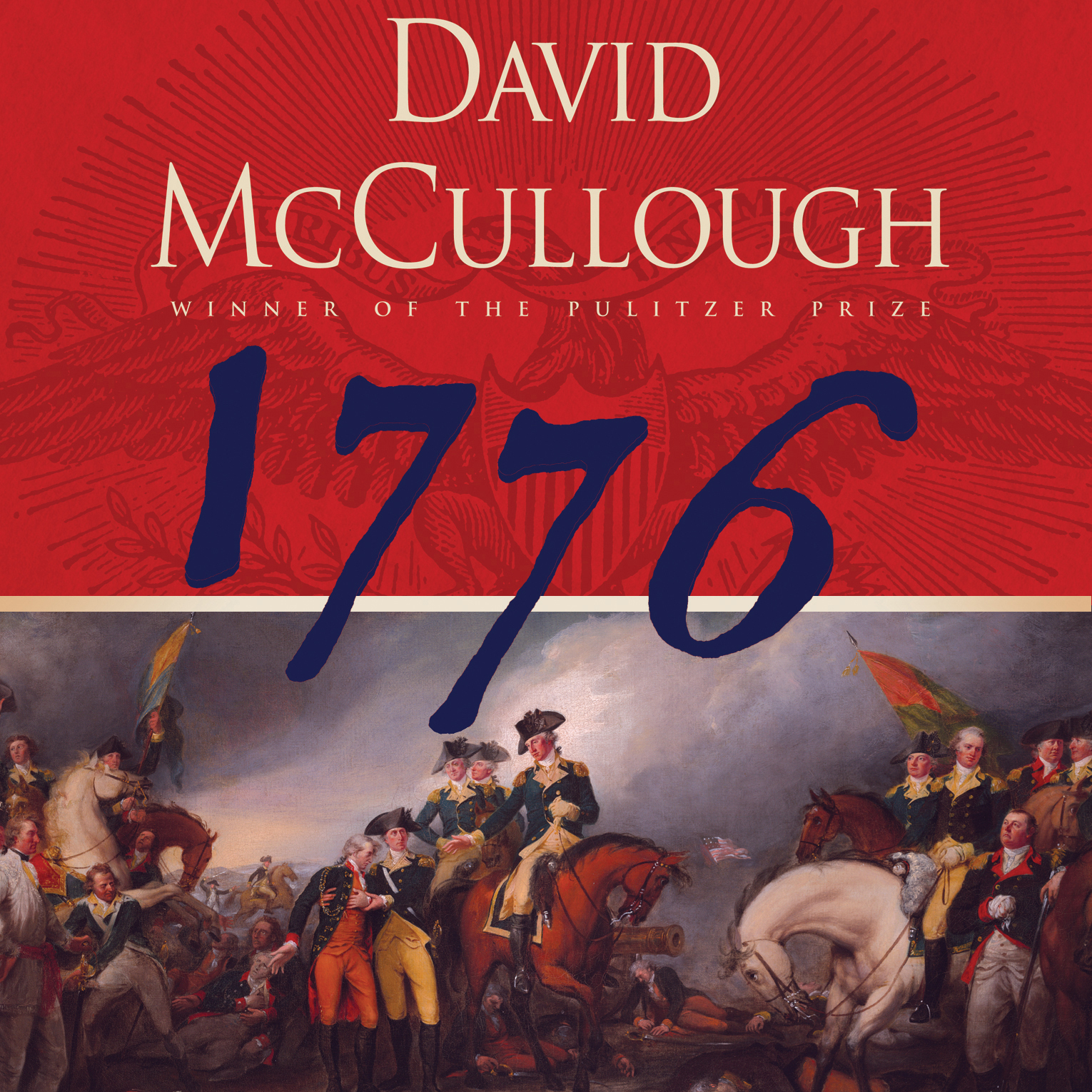 1776 by david mccullough 1776 by david mccullough simon & schuster used - good a sound copy with only light wear overall a solid copy at a great price all orders guaranteed and ship.