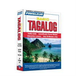 Pimsleur Tagalog Basic Course - Level 1 Lessons 1-10 CD