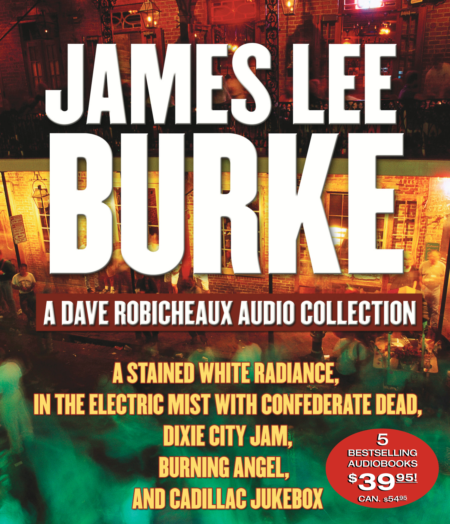 Book Cover Image (jpg): A Dave Robicheaux Audio Collection