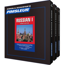 Pimsleur Russian Levels 1-3 CD