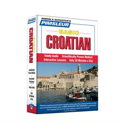 Pimsleur Croatian Basic Course - Level 1 Lessons 1-10 CD
