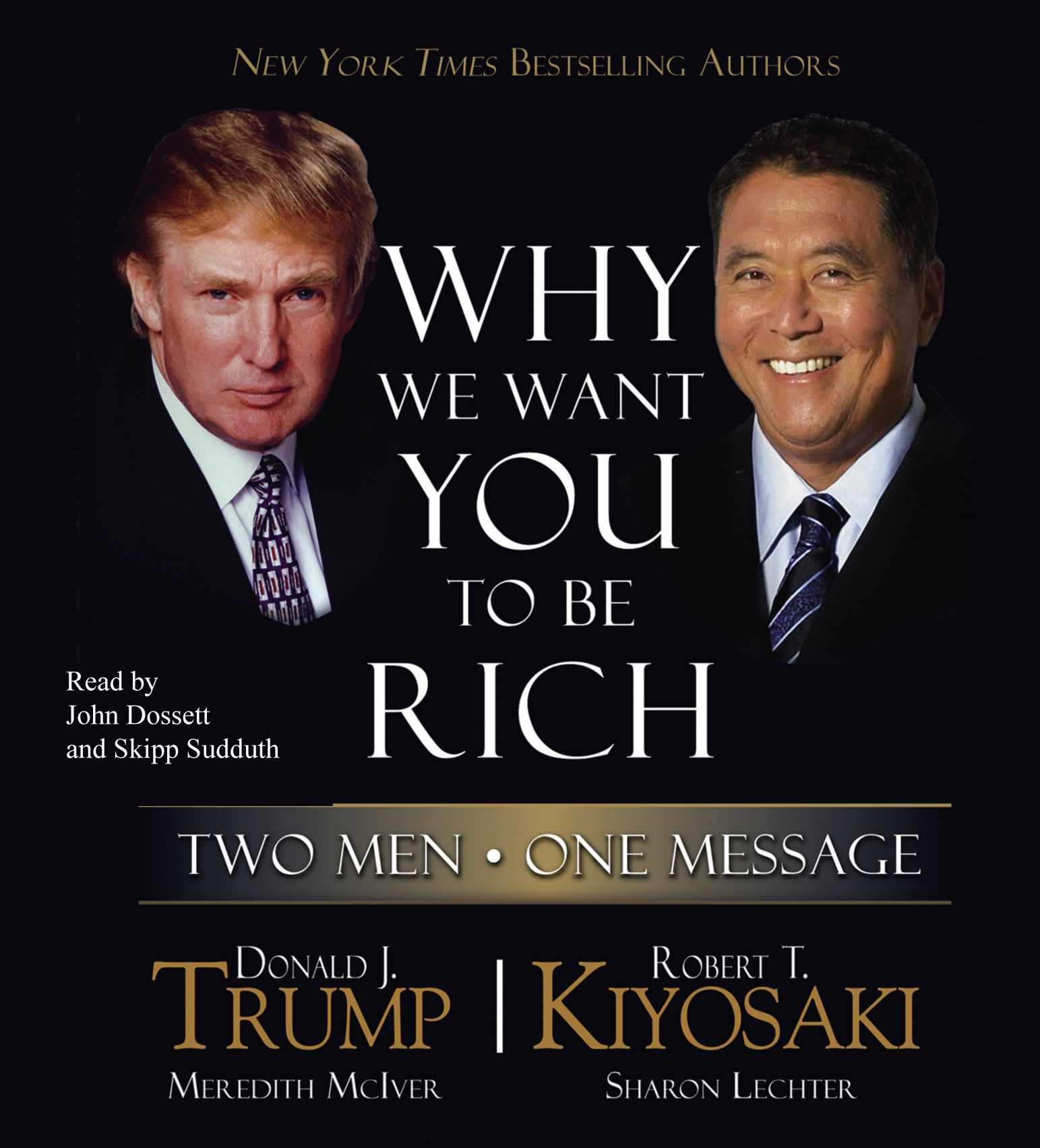 Why we want you to be rich audiobook by donald j trump for Donald trump favorite books