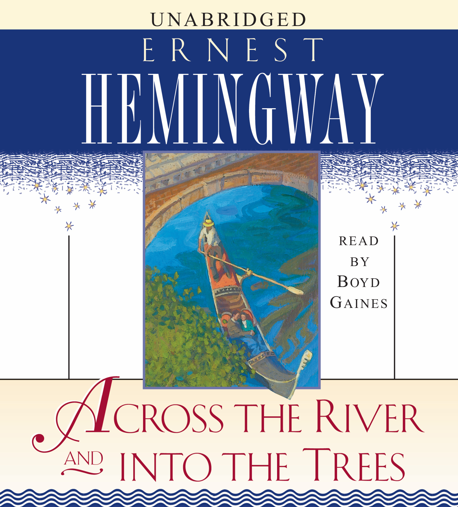 Book Cover Image (jpg): Across The River And Into The Trees