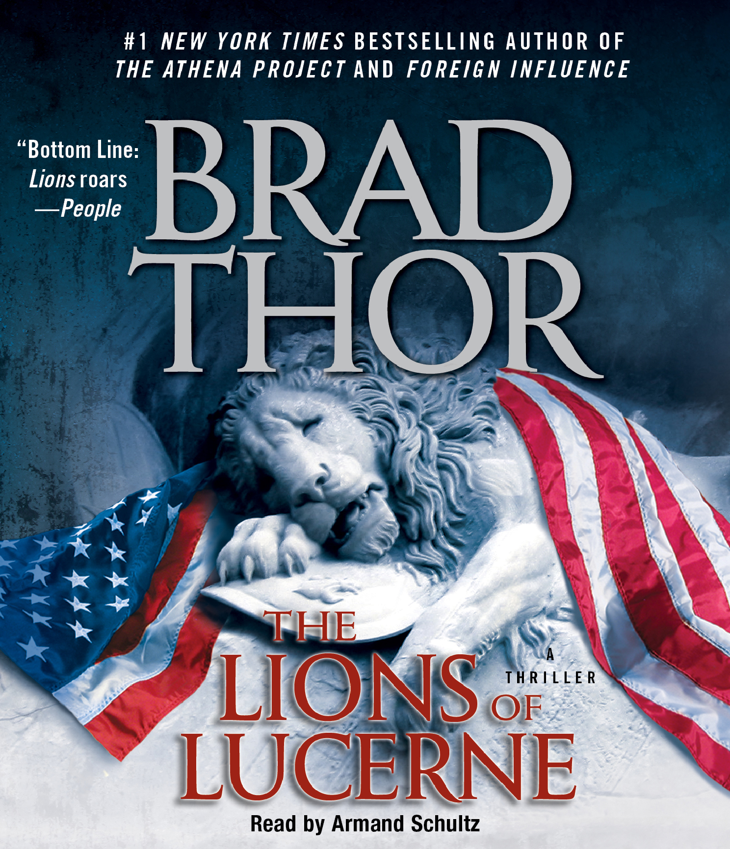 Book Cover Image (jpg): The Lions Of Lucerne