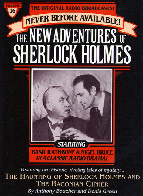 The Haunting of Sherlock Holmes and Baconian Cipher Audiobook by ...