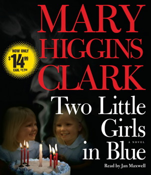 Two Little Girls in Blue