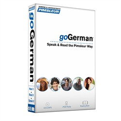 Pimsleur goGerman Course - Level 1 Lessons 1-8 CD