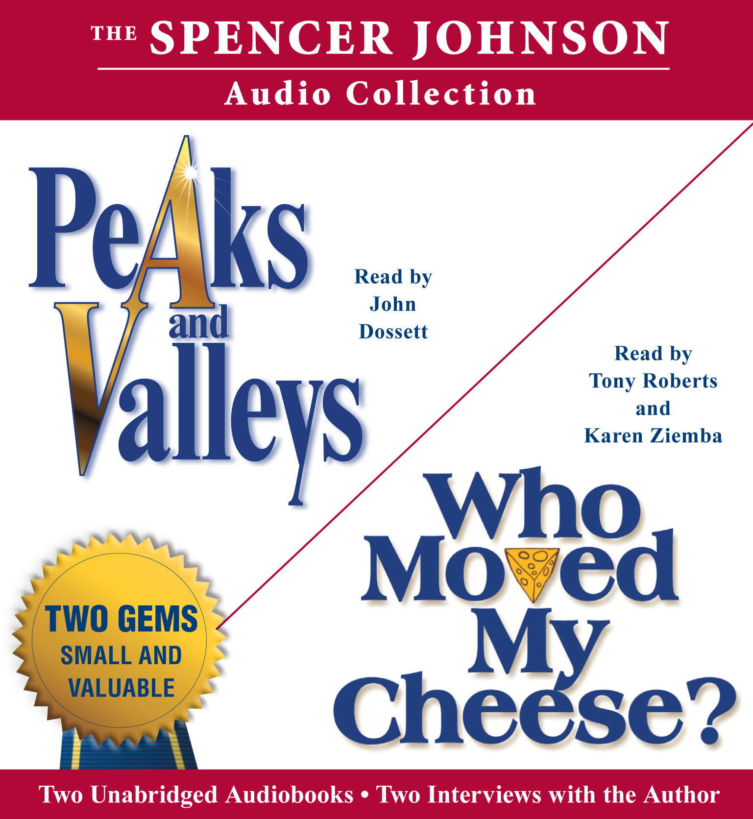 Who Moved My Cheese Quotes New The Spencer Johnson Audio Collection Audiobook On Cdspencer